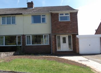 Thumbnail 3 bed semi-detached house to rent in Parkland Drive, Wingerworth, Chesterfield