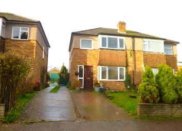 Thumbnail 3 bedroom semi-detached house for sale in Huggins Lane, Welham Green, Herts