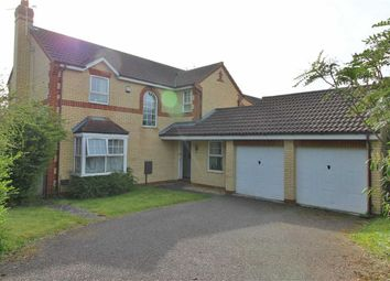 Thumbnail 4 bed detached house for sale in Kirkstall Place, Oldbrook, Milton Keynes