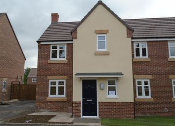 Thumbnail 3 bed semi-detached house for sale in Sherwood Drive, Cannock