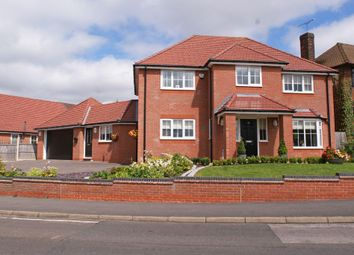 Thumbnail 4 bed detached house for sale in Central Drive, Wingerworth, Derbyshire