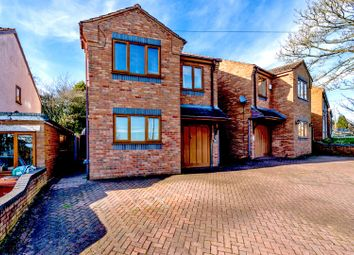 Thumbnail 3 bed detached house for sale in Heath Gap Road, Cannock