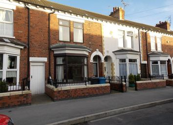 Thumbnail 4 bedroom terraced house for sale in De La Pole Avenue, Hull