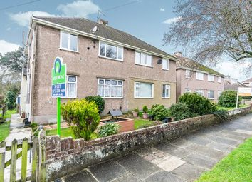 Thumbnail 2 bed flat for sale in Vicarage Gardens, Plymouth, Devon