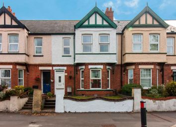 Thumbnail 3 bed terraced house for sale in Cheriton Road, Folkestone