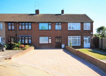 Thumbnail 3 bedroom terraced house for sale in Merlin Close, Collier Row, Romford