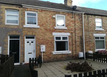 Thumbnail 2 bedroom terraced house to rent in Katherine Street, Ashington