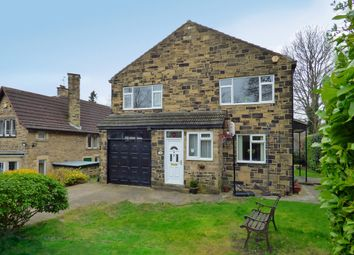 Thumbnail 4 bedroom detached house for sale in Gledhow Wood Road, Leeds