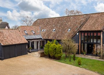 Thumbnail 5 bed barn conversion for sale in Long Lane, Fowlmere, Royston