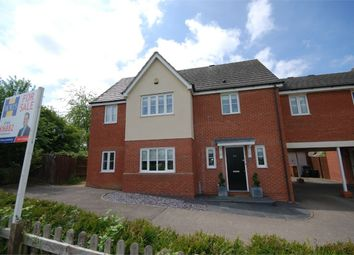 Thumbnail 4 bedroom link-detached house for sale in Ashmead, Little Billing, Northampton