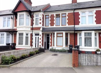 Thumbnail 3 bed terraced house to rent in Moorland Road, Cardiff