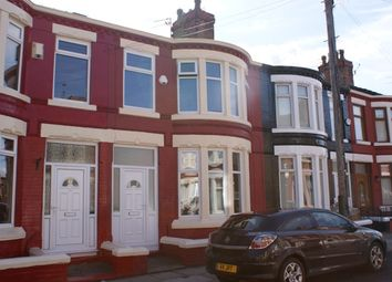 Thumbnail 3 bed terraced house to rent in Gidlow Road South, Old Swan, Liverpool