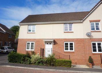 Thumbnail 3 bed semi-detached house for sale in Mill-Race, Abercarn, Newport