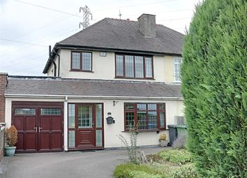 Thumbnail 3 bed semi-detached house for sale in Stafford Road, Newtown, Great Wyrley, Walsall