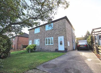Thumbnail 2 bed semi-detached house for sale in Highfield Road, North Thoresby, Grimsby
