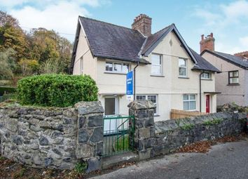 Thumbnail 3 bed semi-detached house for sale in Valley Road, Llanfairfechan, Conwy, North Wales