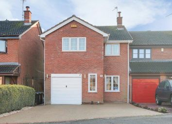 Thumbnail 3 bed semi-detached house for sale in Penhale Drive, Hucknall, Nottinghamshire