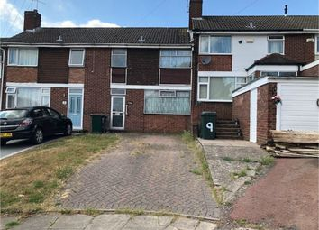 Thumbnail 3 bed terraced house for sale in Caithness Close, Mount Nod, Coventry, West Midlands