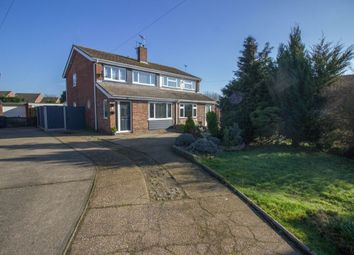 Thumbnail 3 bed semi-detached house for sale in The Gardens, Carlton Colville, Lowestoft