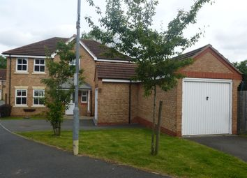Thumbnail 4 bedroom detached house for sale in Holt Close, Stoney Stanton, Leicester