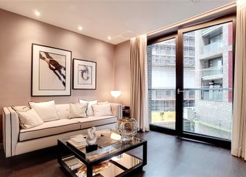 Thumbnail 1 bed flat for sale in Madeira Tower, The Residence, Ponton Road, London