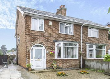 Thumbnail 3 bed semi-detached house for sale in Whitehouse Avenue, Loughborough