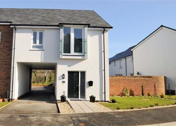 Thumbnail 1 bed terraced house for sale in Brooks Avenue, Holsworthy, Devon