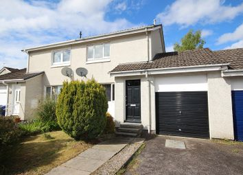 Thumbnail 2 bedroom semi-detached house for sale in 52 Ardbreck Place, Holm, Inverness, Highland.