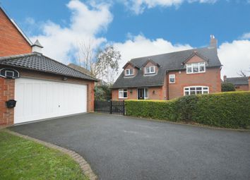 Thumbnail 4 bed detached house for sale in Brockhurst Lane, Dickens Heath, Shirley, Solihull