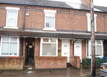 Thumbnail 2 bed terraced house for sale in Wyggeston Street, Burton-On-Trent, Staffordshire