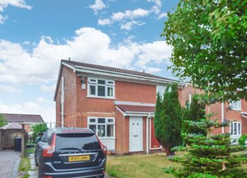 Thumbnail 2 bed semi-detached house for sale in Highwood Close, Bolton
