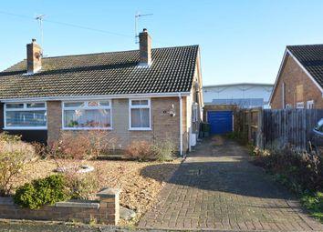 Thumbnail 2 bed semi-detached bungalow for sale in Talbot Avenue, Orton Longueville, Peterborough