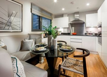 Thumbnail 1 bed flat for sale in Copperwood Place, Greenwich
