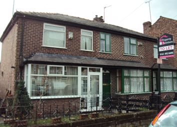 Thumbnail 3 bed semi-detached house for sale in Parkhill Avenue, Crumpsall, Manchester