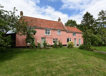 Thumbnail 4 bed detached house for sale in Moat Farm House, Tooks Common, Ilketshall St Andrew, Beccles