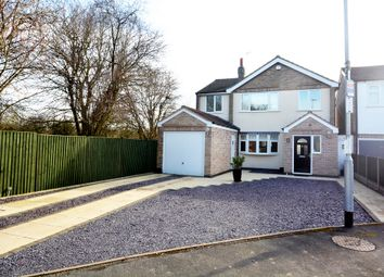 Thumbnail 4 bed detached house to rent in Oakfield Crescent, Blaby, Leicestershire