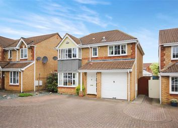 Thumbnail 4 bed detached house for sale in Swinley Drive, Peatmoor, Swindon