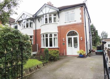 Thumbnail 3 bedroom semi-detached house for sale in High Lane, Woodley, Stockport