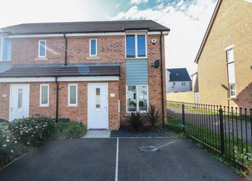 Thumbnail 3 bed semi-detached house for sale in Nimbus Road, Haywood Village, Weston-Super-Mare