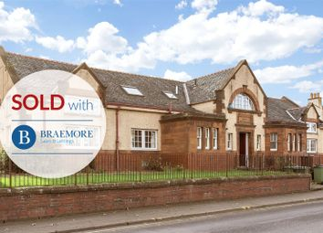 Thumbnail 1 bed flat for sale in Edinburgh Road, Tranent, East Lothian