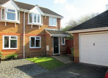 Thumbnail 3 Bed Semi Detached House For In Peppercorn Way Hedge End