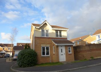Thumbnail 3 bed detached house for sale in Colliers Avenue, Llanharan, Pontyclun