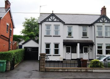 Thumbnail 3 bed semi-detached house for sale in Hillsborough Road, Lisburn
