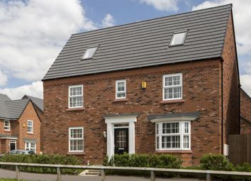 "Thumbnail 5 bed detached house for sale in ""Moorecroft"" at London Road, Nantwich"