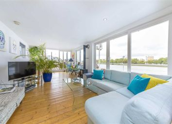 Thumbnail 2 bed houseboat for sale in Nine Elms Pier, Tideway Walk, London