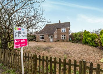 Thumbnail 4 bed detached house for sale in Bury Road, Hopton, Diss