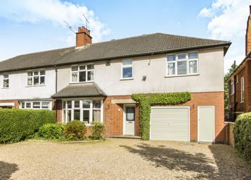Thumbnail 5 bed semi-detached house for sale in Leicester Road, Glen Parva, Leicester