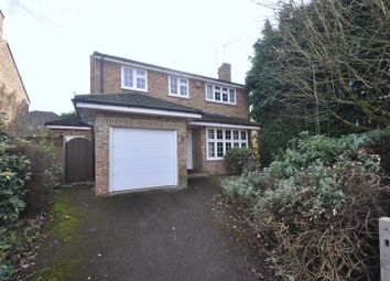 Thumbnail 4 bed detached house for sale in Rydal Drive, Church Crookham, Fleet