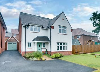 Thumbnail 4 bed detached house for sale in Engine Close, Aston Fields, Bromsgrove