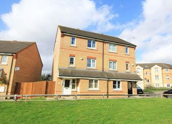 Thumbnail 3 bed semi-detached house for sale in Nightingale Crescent, Harold Wood, Romford, London